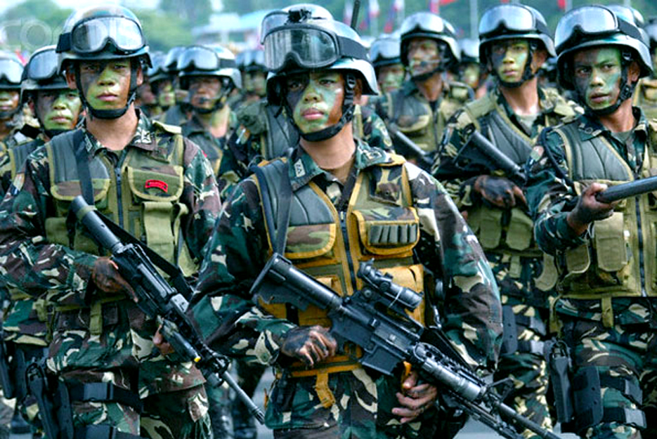 philippine military and police force today The philippine national police (pnp) originated from the philippine constabulary or the pc, which was inaugurated on august 8, 1901, establishing it as an insular police force under the american regime.