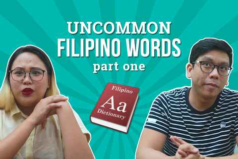 Challenge: Uncommon Filipino Words of Everyday Objects