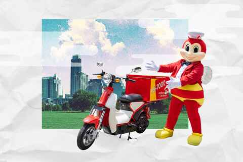 Jollibee E-Bike Delivery