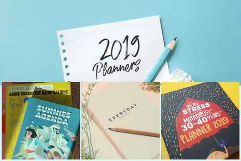 10 Locally Made Planners For Your 2019 Self
