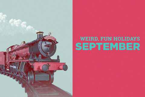 Weird holidays September