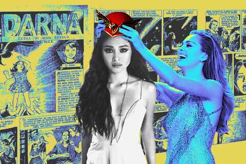 Nadine is my darna and president