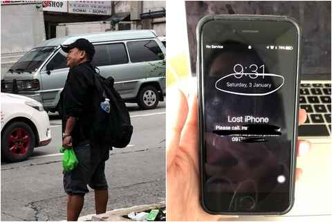 Woman recovered lost cellphone from 'good fella' after 7 months