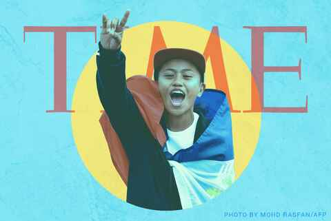 Filipino Skateboard Gold Medalist Named One of Time's 25 Most Influential Teens